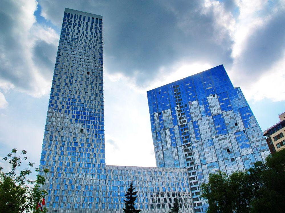 строительство высотных зданий в Москве