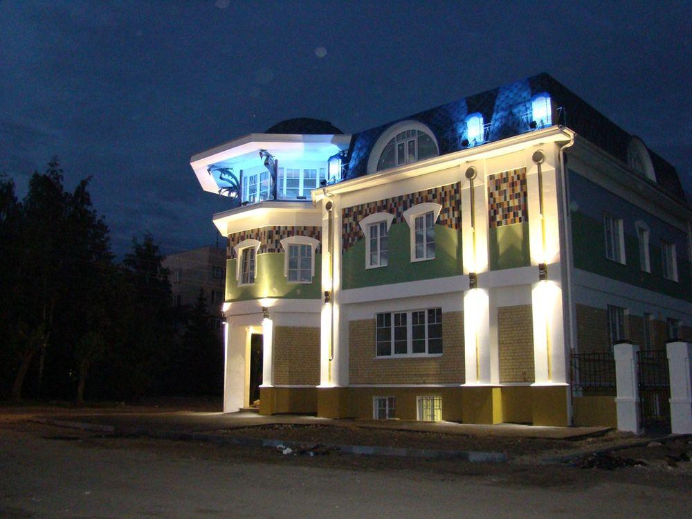 Приемы архитектурно-художественного освещения