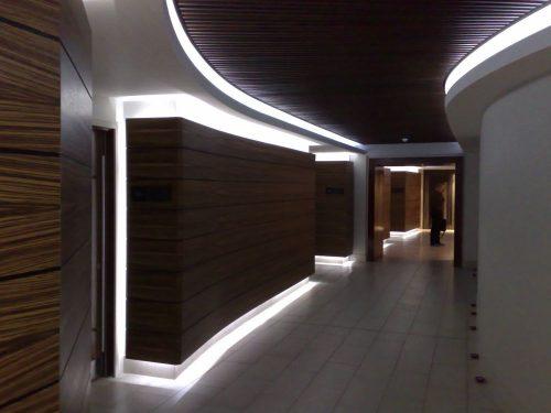 Освещение интерьера при помощи светодиодных ламп