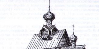 Преображенская церковь в селе Янидор