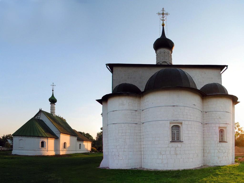Церковь Бориса и Глеба в городе Кидекша