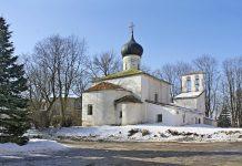Церковь Вознесения Христова в Пскове