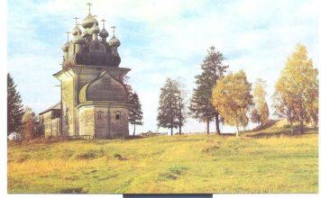 Церковь в селе Бережная Дуброва