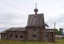 Церковь в селе Чухчерьма
