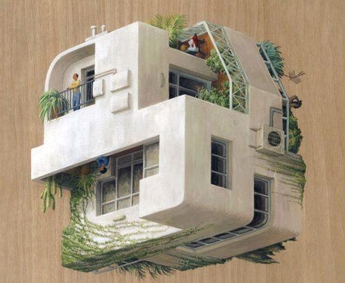 Картины архитекторов