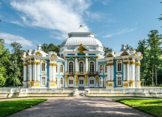 Дворцы в стиле рококо