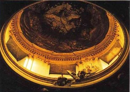 Рим, Сант Андреа аль Квиринале, купол