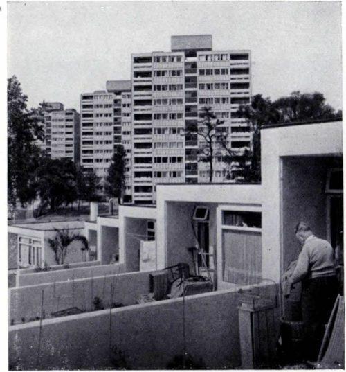 11-этажные пластины домов образцового района Проутт-Айгоу