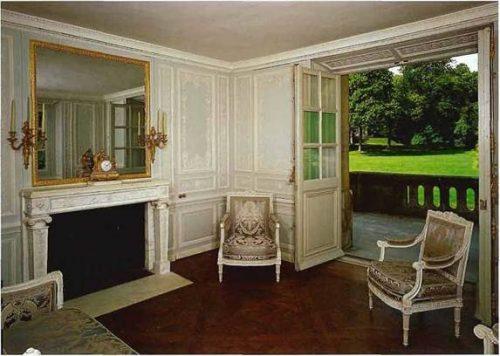 элегантность интерьеров эпохи Людовика XVI
