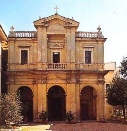 Джан Лоренцо Бернини<br />Рим, фасад церкви Санта Бибиана, 1624-1626