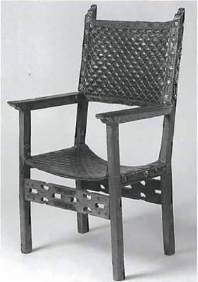 Испанское кресло, Музей промышленного дизайна, Копенгаген, кон. XVI в.