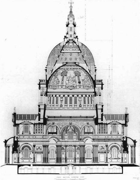 Барочный собор Св. Павла в Лондоне
