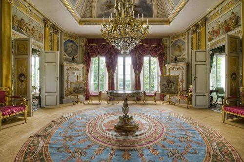 Дворец Розендаль. Интерьер