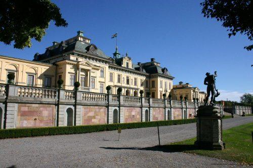 Королевские дворцы Швеции