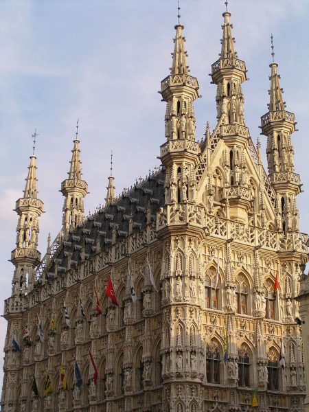 Ратуша в Лувене