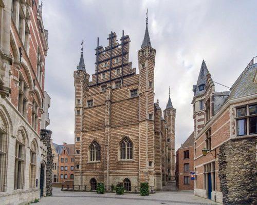 здание гильдии мясников в Антверпене