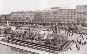 Композиция Пушкинской площади