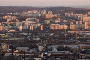 Развитие ансамбля центрального ядра города