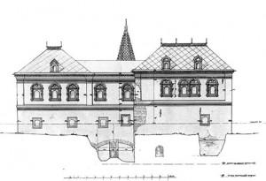 Структура опорных архитектурных объемов