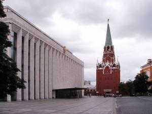 здание Дворца Съездов