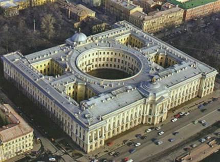 Здание Академии Художеств в Санкт-Петербурге. Общий вид. Современное состояние