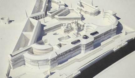 Научная реконструкции нереализованного проекта В.И.Баженова по перестройки Московского Кремля