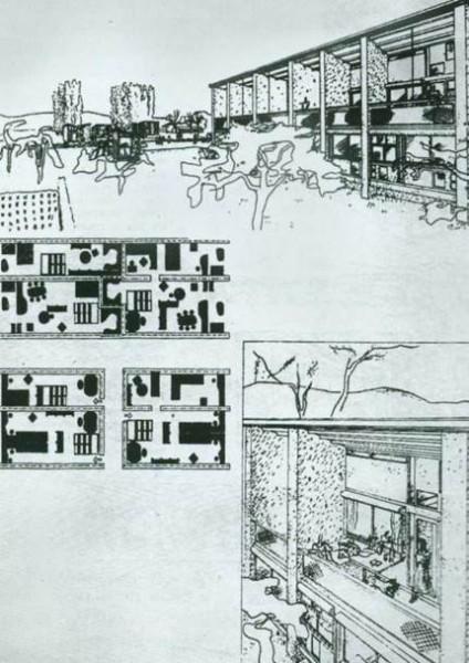 Ле Корбюзье. Быстровозводимые жилые дома