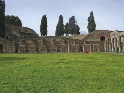 Руины - вечный и органичный элемент архитектурно-ландшафтного пространства