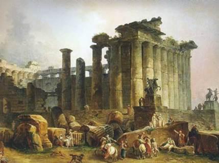 Архитектурные руины в современном мире