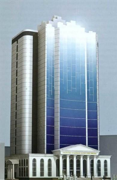 Конкурсный проект библиотеки в Новосибирске, ООО «Н-ск Градострой 2002»