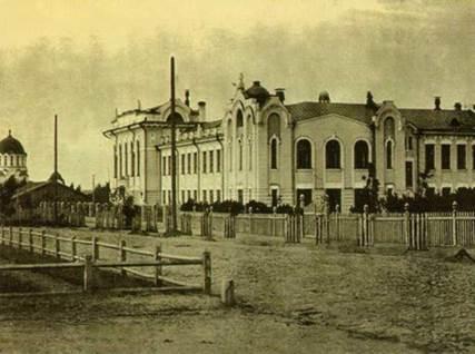 Здание Реального училища, арх. А.Д. Крячков, 1912 г., Новосибирск