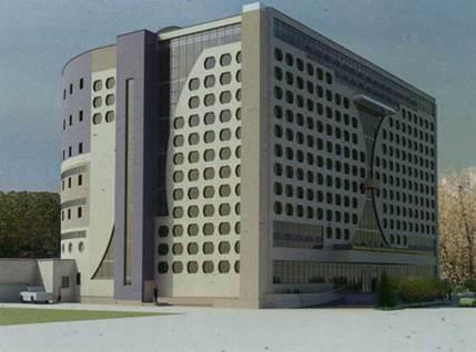 Конкурсный проект библиотеки в Новосибирске, ООО «Сибторгпроект»