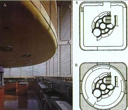 Архитектор Фрэнк Ллойд Райт. Исследовательское здание компании «Джонсон и Сын», Висконсин, США.