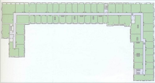 Москва. Жилой комплекс Loft Garden. План 2-3 этажей апартаментов.
