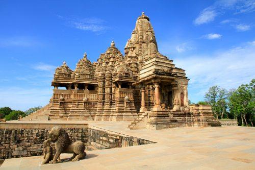 Храм Кандарья в Кхаджурахо