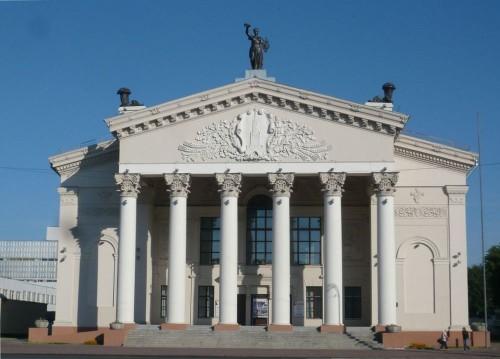 здание областного драматического театра в Витебске
