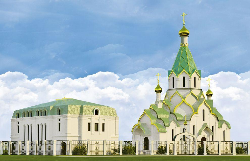 архитектура русских православных храмов