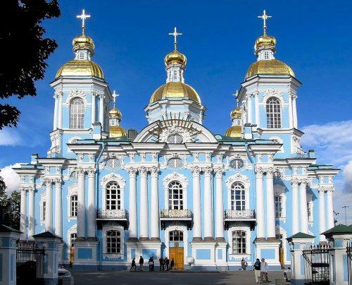 Морской Никольский собор в Петербурге